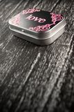 Caixa do amor Imagem de Stock Royalty Free