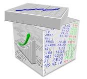 Caixa do arquivo Foto de Stock