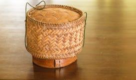 Caixa do arroz Imagens de Stock Royalty Free