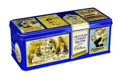 Caixa do biscoito de Cadburys do vintage Foto de Stock Royalty Free