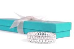 Caixa do bracelete e de presente Imagem de Stock