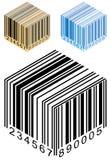 Caixa do código de barras Imagem de Stock