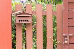 Caixa do cargo Foto de Stock