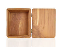 Caixa do cedro Fotografia de Stock