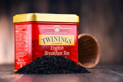 Caixa do chá de Twinings Fotografia de Stock Royalty Free
