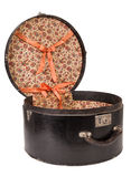 Caixa do chapéu Foto de Stock