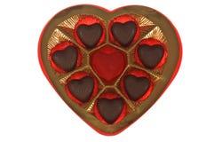 Caixa do chocolate Imagem de Stock Royalty Free