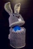 Caixa do coelhinho da Páscoa para ovos de embalagem Foto de Stock