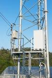 Caixa do controlador e mastro do transmissor Fotos de Stock Royalty Free