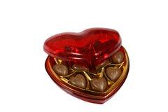 Caixa do coração imagem de stock