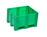 Caixa do desperdício de alimento Fotografia de Stock
