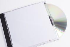 Caixa do disco e do CD Fotos de Stock