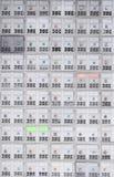 Caixa do fechamento - cofres de segurança Foto de Stock
