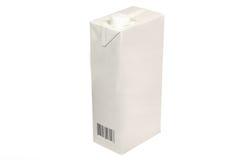 Caixa do leite Imagem de Stock Royalty Free