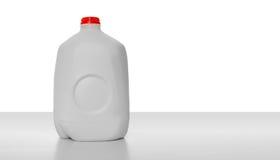 Caixa do leite do galão imagens de stock