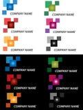 Caixa do logotipo Imagens de Stock Royalty Free