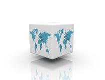 Caixa do mundo ilustração royalty free