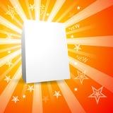 Caixa do produto Imagens de Stock