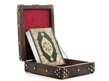 Caixa do Quran do vintage Foto de Stock Royalty Free