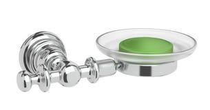 Caixa do sabão do dispositivo do toalete Fotos de Stock Royalty Free