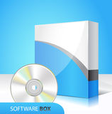 Caixa do software Fotos de Stock