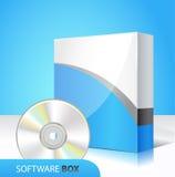 Caixa do software ilustração do vetor