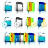 Caixa do software Fotografia de Stock Royalty Free