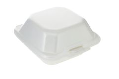 Caixa do Styrofoam Imagem de Stock