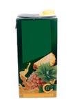 Caixa do suco Foto de Stock