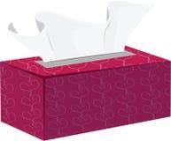 Caixa do tecido Fotografia de Stock