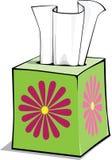Caixa do tecido dos desenhos animados Imagem de Stock Royalty Free