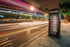 Caixa do telefone de Londres imagem de stock royalty free