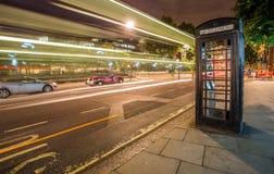 Caixa do telefone de Londres imagens de stock royalty free