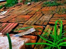 Caixa do tijolo Fotos de Stock