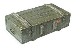 Caixa do vintage da munição Imagens de Stock
