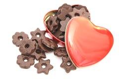 Caixa dos chocolates Fotografia de Stock Royalty Free