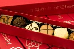Caixa dos chocolates Imagens de Stock Royalty Free
