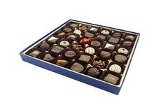Caixa dos chocolates Foto de Stock Royalty Free