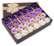 Caixa dos chocolates Fotos de Stock