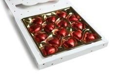 Caixa dos chocolates, dia do ` s do Valentim Foto de Stock Royalty Free