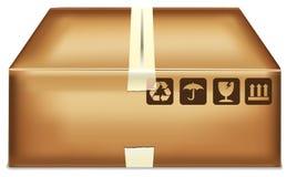 Caixa dos desenhos animados Imagem de Stock