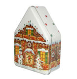 Caixa dos doces do Natal Imagem de Stock