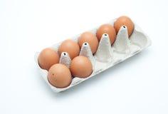 Caixa dos ovos Foto de Stock