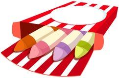 Caixa dos pastéis Fotografia de Stock Royalty Free