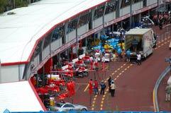 CAIXA F1 Imagens de Stock