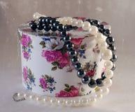 Caixa floral Fotografia de Stock
