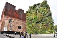 Caixa forum Madrid royaltyfri foto