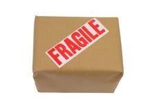 Caixa frágil Fotografia de Stock Royalty Free