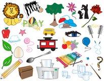 Caixa grande dos desenhos animados 1 [vetor] Fotografia de Stock Royalty Free
