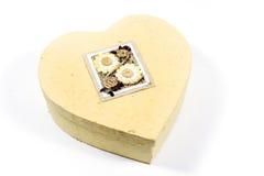 Caixa Heart-shaped fotos de stock